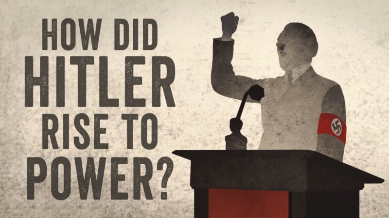 a short paper on hitlers rise to power